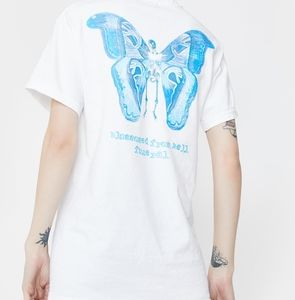 """""""Blossomed From Hell"""" Butterfly Tee"""